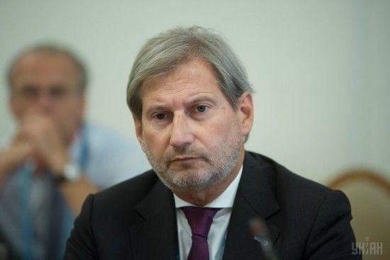"""""""План Маршалла для України"""": єврокомісар Ган отримав проект масштабної фіндопомоги"""