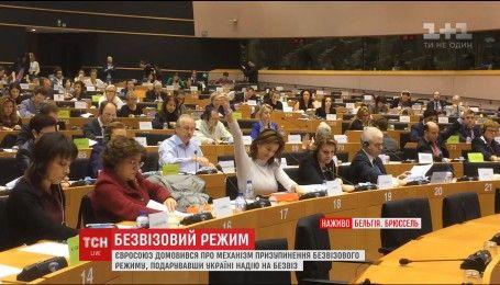 Комітет Європейського парламенту ухвалив механізм призупинення безвізового режиму