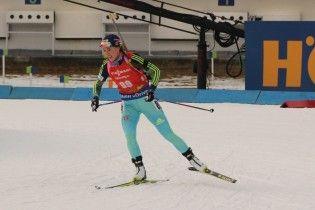 Українська біатлоністка Джима посіла 11 місце в пасьюті на етапі Кубка світу в Поклюці