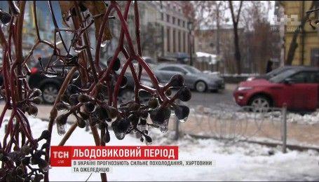 Синоптики попередили про наближення морозів та снігопади