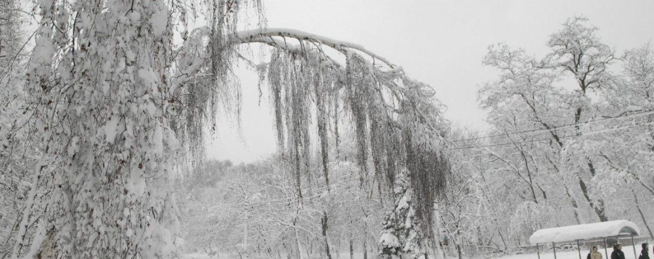 На Різдво в Україні пануватимуть люті морози та сильні снігопади