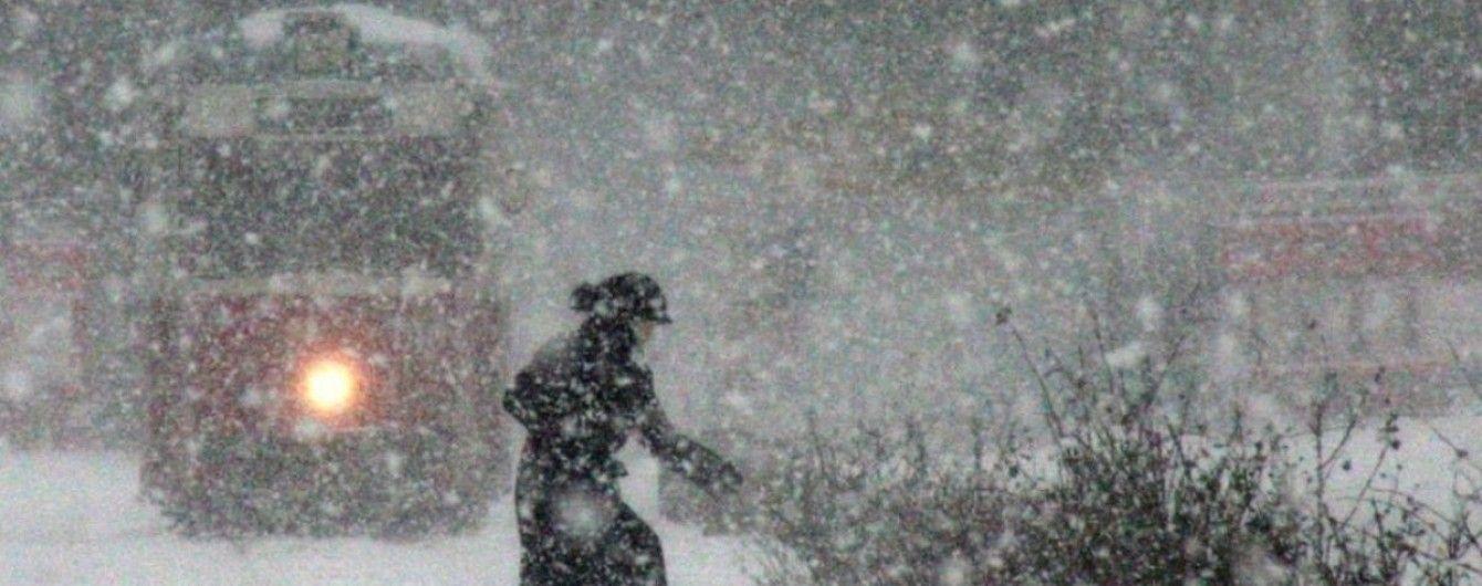 Морози, снігопади, замети: в Україні водіїв попередили про складні погодні умови