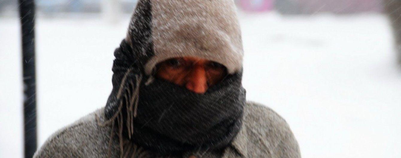 На Львівщині від переохолодження померла людина