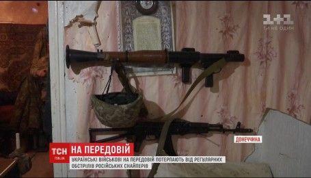 Российские снайперы отрабатывают мастерство на украинских оккупированных землях