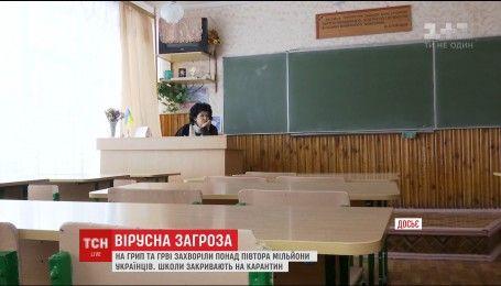 Украинцы массово начали болеть гриппом и ОРВИ