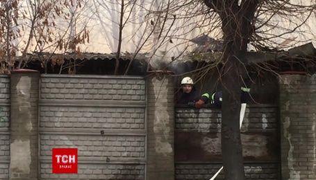 У Чернівцях сталася масштабна пожежа на колишньому пивзаводі