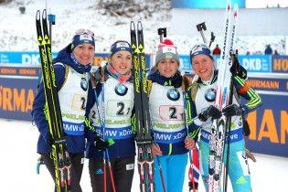 Збірна України з біатлону назвала склад на жіночий спринт в Нове Мєсто