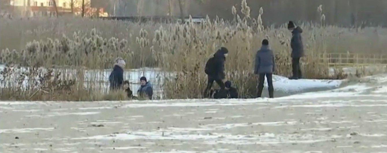 13-річний черкаський хлопець урятував із замерзлої річки двох дівчат