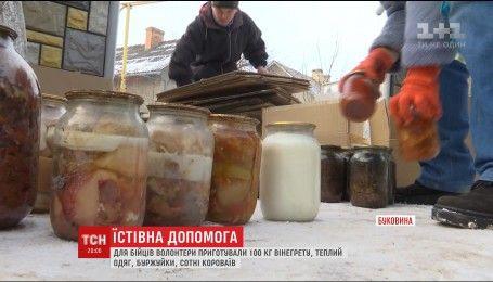 Праздничные сладости: волонтеры из Буковины решили поздравить военных домашними вкусностями