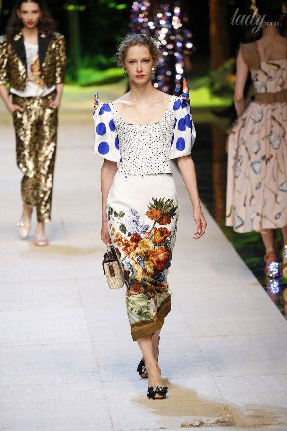 Коллекция Dolce&Gabbana  прет-а-порте сезона весна-лето 2017_28