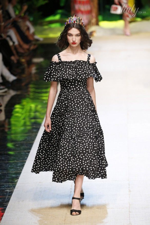 Коллекция Dolce&Gabbana  прет-а-порте сезона весна-лето 2017_81