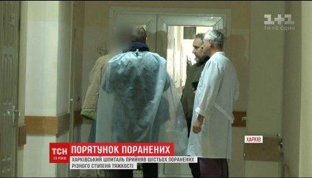 Шесть бойцов из Светлодарской дуги доставили в Харьковский военный госпиталь