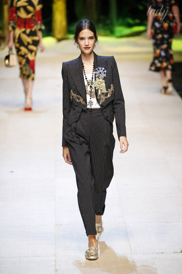 Коллекция Dolce&Gabbana  прет-а-порте сезона весна-лето 2017_89