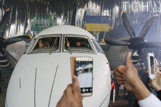 """Перфоманс от """"Антонова"""" в Гостомеле одновременно собрали все самолеты украинского производства"""
