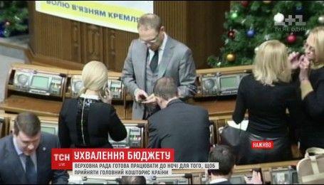 В ВР депутаты снова готовятся к длительному принятию бюджета на следующий год