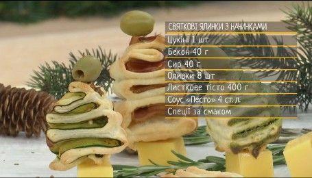 Святкові ялинки з начинками – рецепти Сенічкіна
