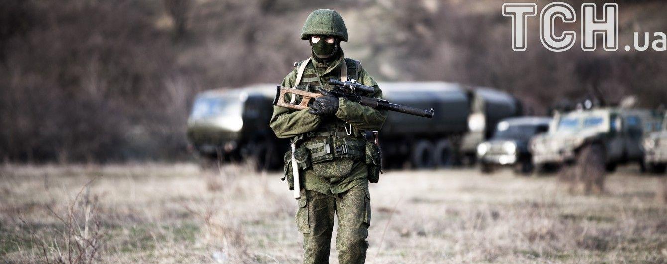 На Донбассе боевики избили российского офицера, который им угрожал оружием – ГУР
