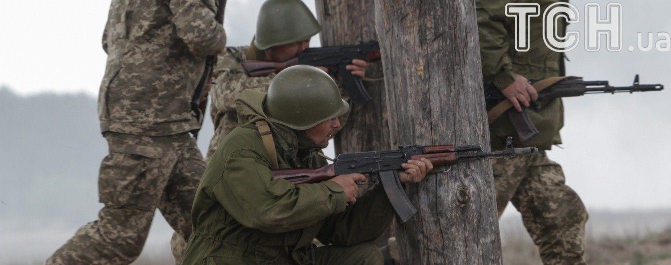 Під час бою у Водяному українські військові зайняли позиції бойовиків
