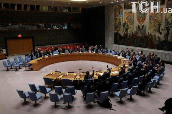 Радбез ООН не підтримав резолюцію, яку пропонувала РФ щодо Сирії