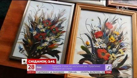 Мой путеводитель. Киевщина - произведение искусства из перьев и китайский язык в Боярке