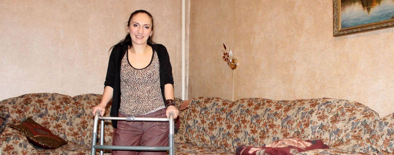 Наталія сподівається на допомогу, щоб у 35 років не втратити можливість ходити