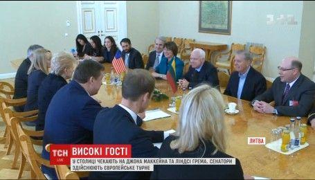 Соратники по партии новоизбранного американского президента прибыли в Киев