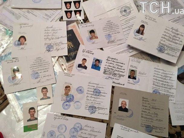 """На Полтавщине задержали женщину, которая делала фиктивные украинские паспорта боевикам """"ДНР"""""""