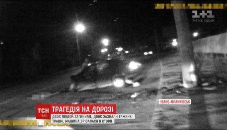В Ивано-Франковске произошла смертельная авария