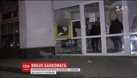 У Сумах підірвали банкомат