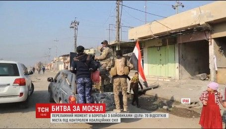 """Иракская армия вместе с военными США почти отвоевала главную базу группировки """"ИД"""" в Ираке"""