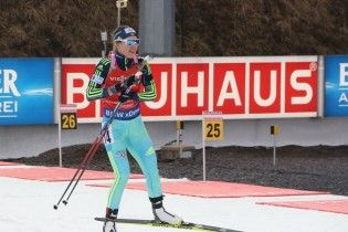 Біатлон. Українка Джима стала п'ятою  на етапі Кубка світу в Оберхофі