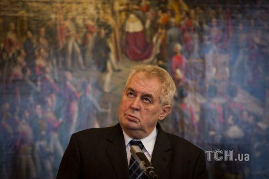 """""""Друг Путіна"""" Земан лідирує на виборах президента Чехії – ЗМІ"""
