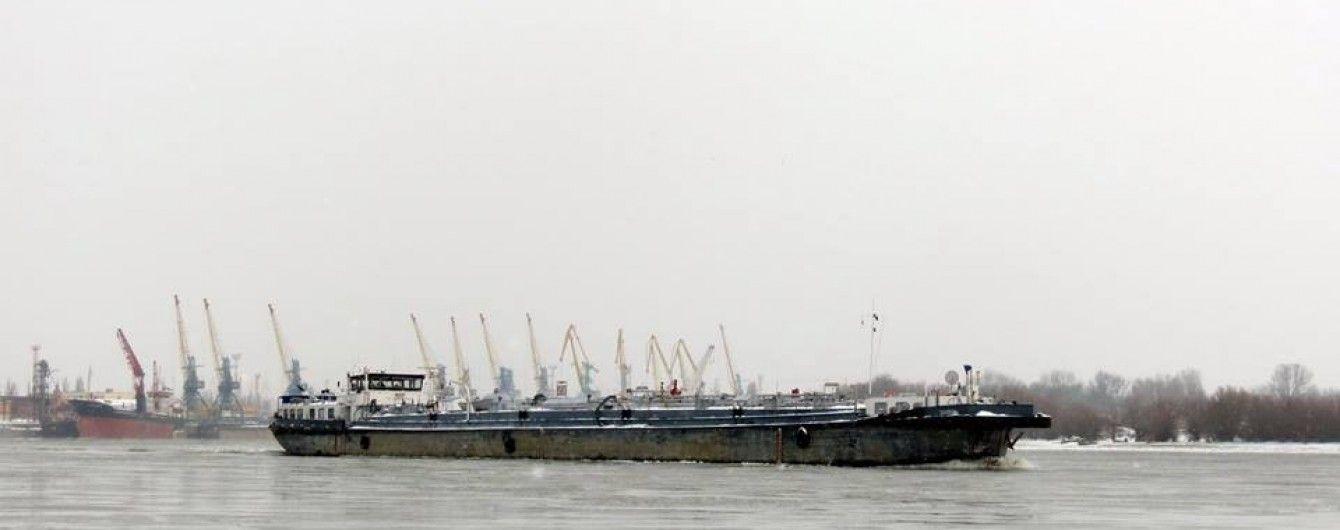На Дунае столкнулись два украинских судна