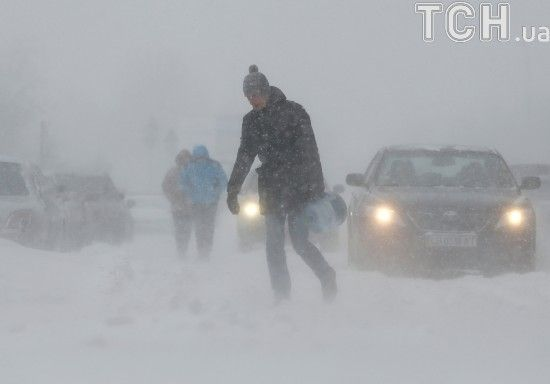 Штормове попередження. Синоптики обіцяють до 27 градусів морозу та сильні хуртовини