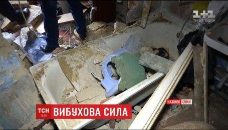 В Сумах произошел взрыв в многоэтажке