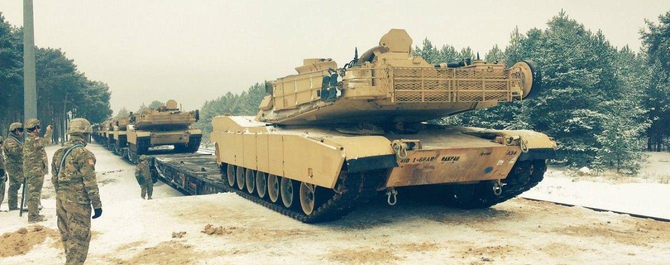 В Кремле считают серьезной угрозой размещение американских танков в Польше