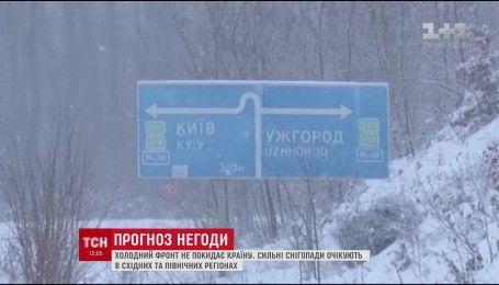 Синоптики повідомили, яким регіонам очікувати нових снігопадів