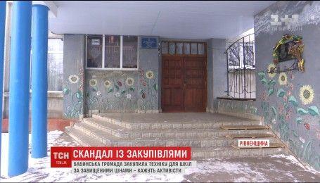 На одній із фірм Рівненщини напали на знімальну групу ТСН