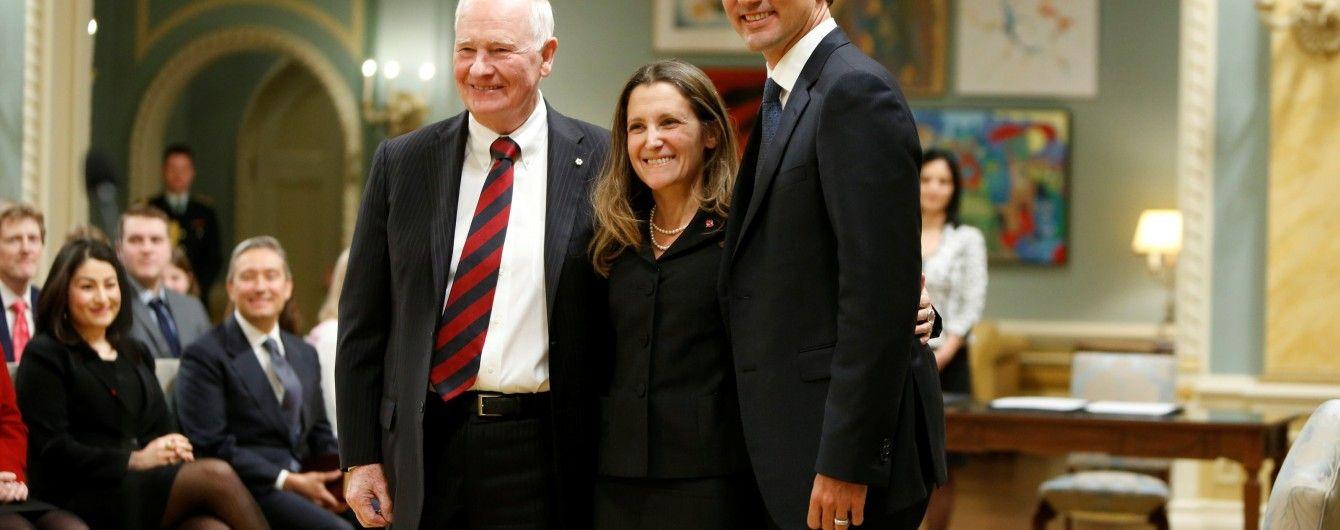 Політик з українським корінням офіційно очолила МЗС Канади