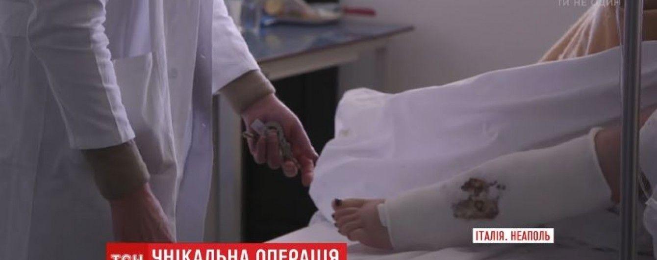 Унікальна операція. В Італії лікарі пересадили українці донорську кістку