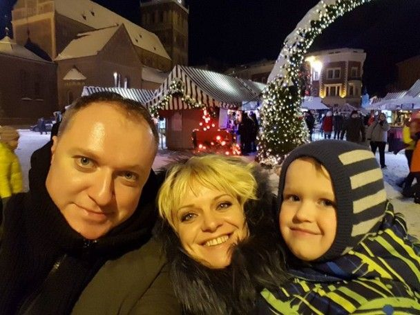 Закохана та щаслива Ірма Вітовська показала відпочинок із новим чоловіком