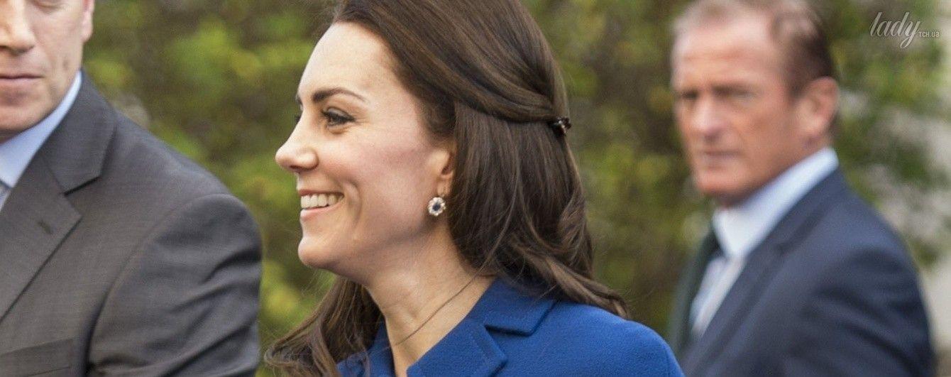 Первый выход в новом году: герцогиня Кембриджская появилась на публике в наряде за 2 тысячи долларов