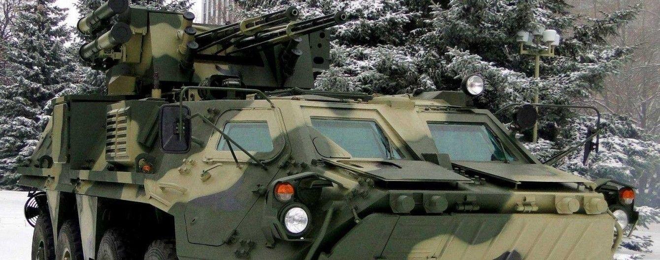 Украинский бронетранспортер БТР-4 получил боевой модуль с двумя 30 мм пушками