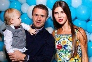 Дружина Реброва показала, як пара відсвяткувала день народження сина