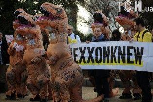 """""""Повстання динозаврів"""". У США протестували проти призначення друга Путіна держсекретарем"""