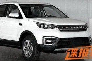 В Сети появились фото нового кроссовера Changan CS55