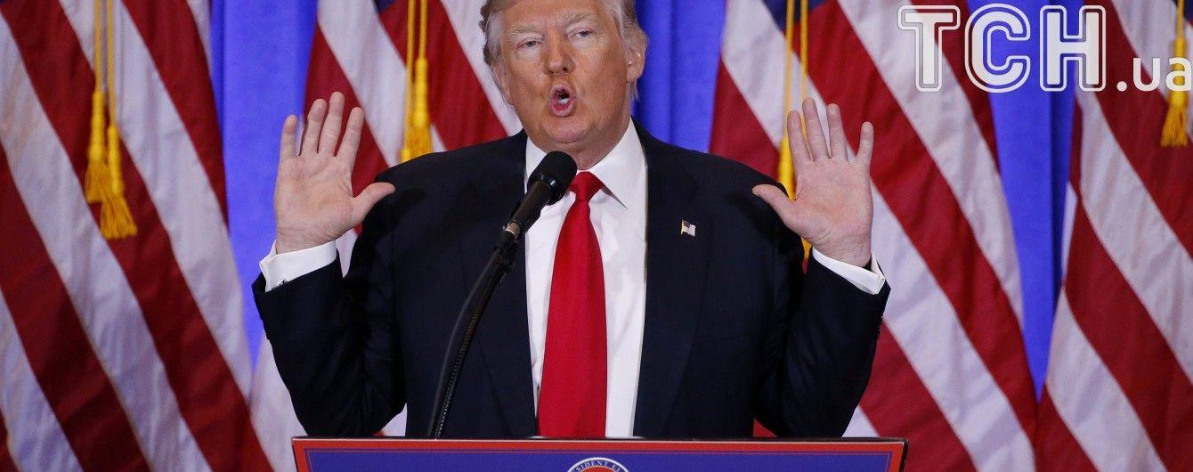 """CNN призывает Трампа объяснить обвинения в публикации """"фейков"""" после скандала на пресс-конференции"""