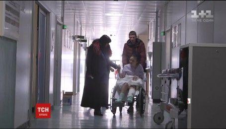 Итальянские медики спасли украинской заробитчанке травмированную ногу