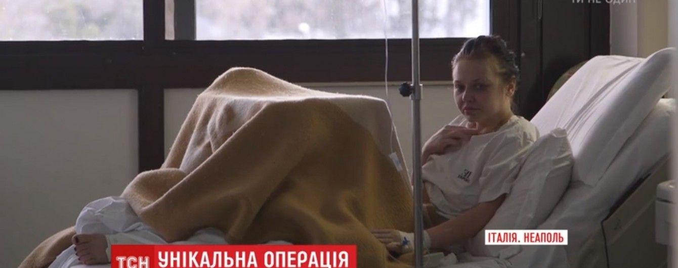Итальянские хирурги провели уникальную операцию пострадавшей в ДТП украинке
