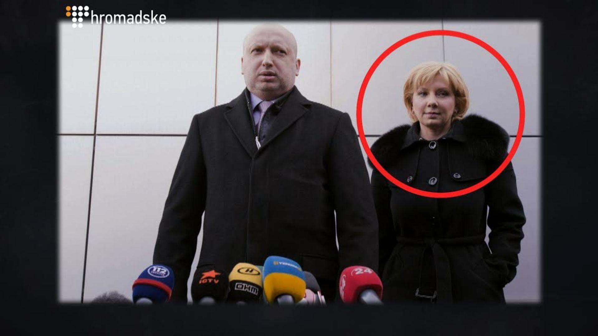 Турчинов із дружиною Ганною